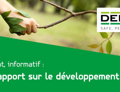 Le rapport sur le développement durable de DEBATIN est arrivé. Abonnez-vous dès maintenant à notre newsletter !
