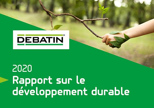 Le rapport volontaire de DEBATIN sur le développement durable