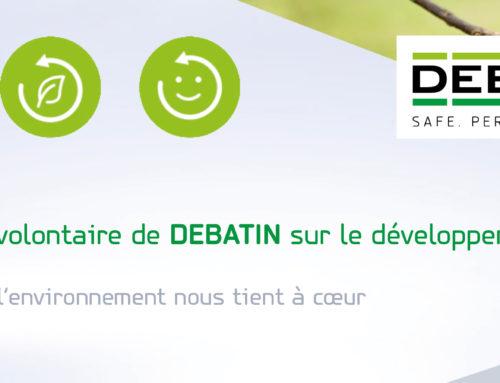 Téléchargez dès maintenant la totalité du rapport sur le développement durable 2020 de DEBATIN
